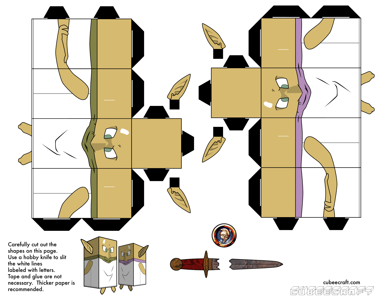 Free Papercraft And Paper Model Masa Mune Chrono