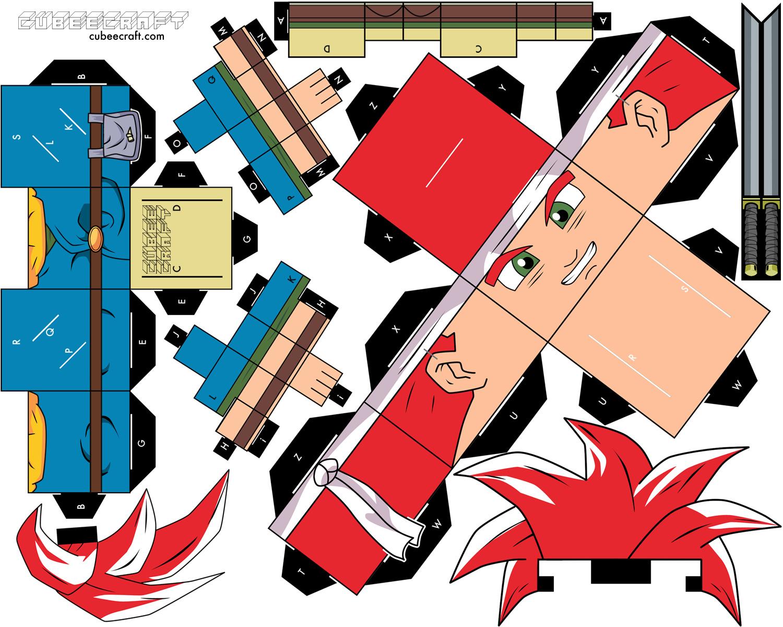 descargar papercraft gratis en cubeecraft